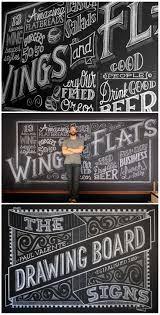 BLACK AND WHITE DESIGN by Paul Valente, talented Chalk Artist, Muralist &  Sign Maker