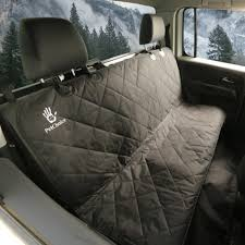 petchoice dog seat cover pet seat cover for protecting your rear car seat and keeping your dog or cat comfortable on back seat car suv jeep