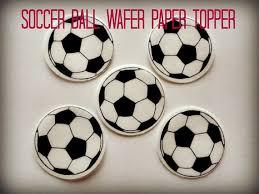 Edible Soccer Ball Cake Decorations 100 Soccer Ball Sports PreCut Edible Image Cupcake Cookie Cake 6