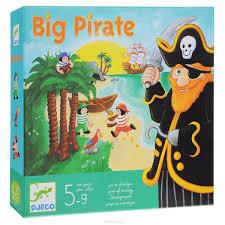 <b>Djeco</b> Обучающая <b>игра</b> Большой пират — купить в интернет ...