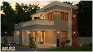 1400 sq ft low budget home kerala in modern style