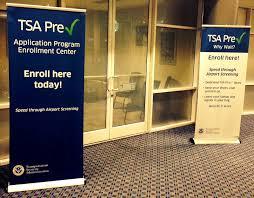 the tsa blog tsa travel tips applying for tsa pre at an tsa application center