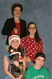 Family Christmas Picture Reddit User Created Perfect Obnoxious Christmas Family Card All By