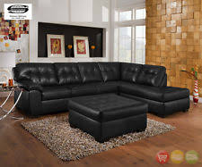 simmons harbortown sofa. soho contemporary black bonded leather sectional sofa \u0026 ottoman lafs simmons harbortown