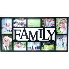 multiple picture frames family. Family Picture Frames Collage Black Wall Vertical Horizontal Gallery Photos Frame Set . Multiple M
