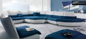 Benji Sectional By Chateau Dax Italy Shown As A Leather