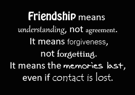 Inspirational Quotes About Friendship Inspirational Quotes friendship means understanding not agreement 65