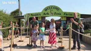 Girl reopens zoo after raising thousands for animals and staff | West  Country | ITV News