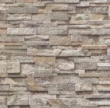 3D Effect Brick Slate Stone Wallpaper ...