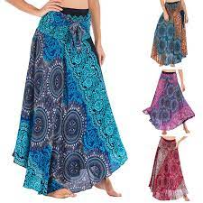 See more of moda hippie on facebook. 38 Women Long Bohemian Elegant Skirt Sexy Women Hippie Gypsy Boho Flowers Elastic Waist Floral Halter Skirt Faldas Mujer Moda Plus Size Bottoms Aliexpress