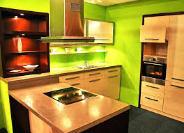 green kitchen walls sage with brown cabinets