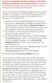How To Take Birth Control As Plan B