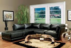 living room ideas with black leather sofa home design 2018