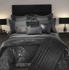 black and silver duvet covers