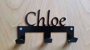 Personalised Coat Rack Simple Personalised Bridle RackCoat Hanger