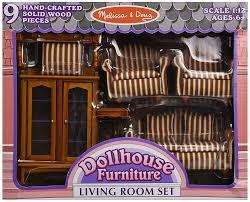 Living Room Wood Furniture Amazoncom Melissa Doug Classic Victorian Wooden And