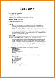 Bad Examples Of Resumes Examples Of Resumes