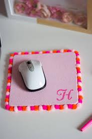 pompom mouse pad via designimprovised
