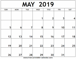 Free 2020 Monthly Calendar Template Free Printable Calandars Monthly Calendars July 2019