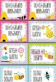 Cute Bee Classroom Behavior Chart Ar Points Challenge