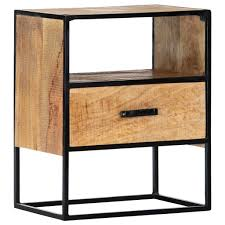 D-Shop <b>Nightstand 40x30x50 cm Solid</b> Mango Wood - Design Shop