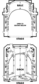 Gwinnett Performiong Arts Center Seating Chart Theatre Atlanta