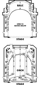 The Gwinnett Center Seating Chart Gwinnett Performiong Arts Center Seating Chart Theatre Atlanta