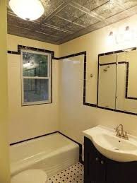 replace bathroom ceiling with drop ceiling