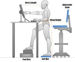 ergonomic office desk chair and keyboard height calculator pertaining to incredible property ergonomic standing desk remodel