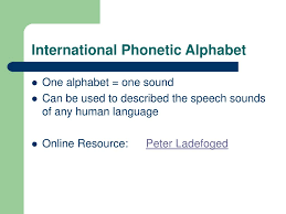 So you can learn it with sounds here interactively. Ppt Lecture 3 Powerpoint Presentation Free Download Id 1758956