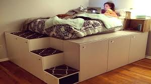 diy bed frames with drawers exciting queen bed frame with storage gallery new at kids room diy bed frames with drawers