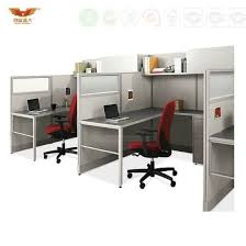 modern office cubicle. modern office furniture 3 person cubicle workstation