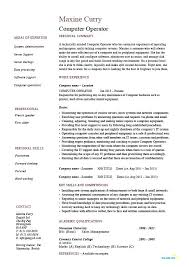 Production Operator Resume Production Operator Resume Production ...