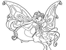 Disegni Da Colorare Flora Butterflix Winx Club Mamme Magazine