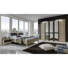 Schlafzimmer Einrichtung Monzara Spiegelschrank Pharao24de