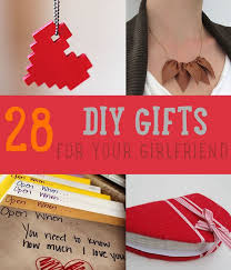 D 28 DIY Gifts For Your Girlfriend  Christmas For
