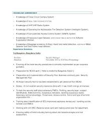 Security Resume Objective Examples Resume Objective For All Jobs Maintenance Job Resume Objective