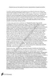 an essay regarding the question evaluate how your texts explore  an essay regarding the question evaluate how your texts explore the various representations of people