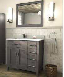 Art Kelia 36 inch Bathroom Vanity French Gray Finish ...