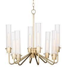 regina andrew design neo small chandelier natural brass