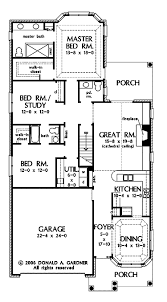 builder house plans. Perfect For Narrow Lots (HWBDO69199)   Ranch House Plan From BuilderHousePlans.com Builder Plans T