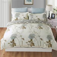 duvet cover king style bedding cotton pintuck duvet cover and shams 3pcs