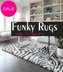 funky soho inspired modern area rugs