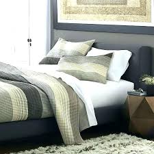 crate and barrel quilts bedspreads king quilt grey pillow shams