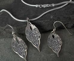 ravens morrigan pendant earrings chain sterling silver set