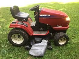 craftsman gt 5000 lawn riding garden