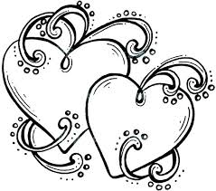 coloring heart hearts with wings coloring pages heart with wings coloring pages heart watermelon coloring