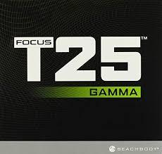 beachbody shaun t s focus t25 gamma cycle dvd workout