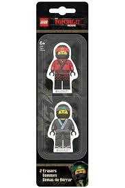 <b>Набор ластиков</b>, 2 шт <b>Lego</b> (Лего) арт 51876/W18042670983 ...