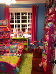 Lalaloopsy Bedroom Decor Cheyennes Lalaloopsy Room With Pink Glitter Wall And Ceiling